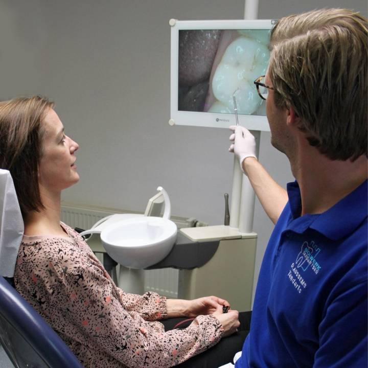 gaatjes vullen tandarts